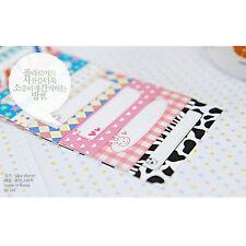 100Pcs Memo Pattern Films Sticker For FujiFilm Instax Mini 8 7s 25 50s+Bk Stylus