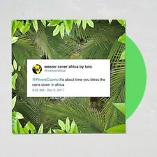 """*SEALED* Weezer AFRICA 7"""" Green Vinyl Record /1500 U.O. Exclusive Rosanna Toto"""