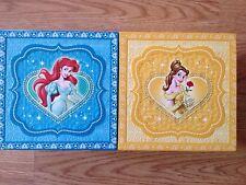 Disney Beauty and the Beast Princess Little Mermaid Jewelry Music Box 90s 80s
