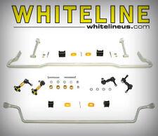 Whiteline Front & Rear Sway Bars + Endlinks Kit FOR 2008-2010 Subaru WRX BSK011