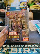 Iron Man *Modern Armor* (Series 8 No BAF) Action Figure Marvel Legends 2004