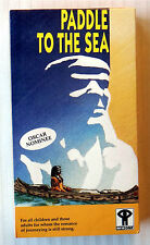 Paddle To The Sea ~ New VHS ~ Holling Story Movie Video ~ Bill Mason Childrens