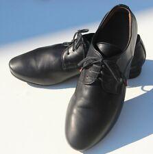 THINK! Shoes GUAD Black Soft Leather Lace Up Shoes - Size EU 39 UK 6