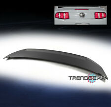 2010-2014 FORD MUSTANG SHELBY GT350 STYLE BLACK REAR TAIL TRUNK LIP ABS SPOILER