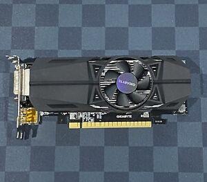 Used Gigabyte GeForce GTX 1050 2GB GDDR5 Low-profile Graphics Card (GPU)