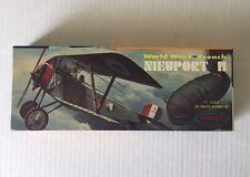VINTAGE - NIEUPORT II Model Kit- Aurora 1956 World War I French