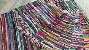 Fleckerl Kufstein Handweb Teppich multicolor Multi Handwebteppich 40x60-200x300