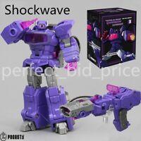 New Transformers Shockwave Pocket Toy PT03 Shockblast G1 Action Figure Kids Toys