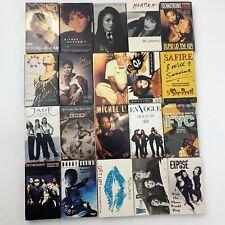 20 Cassette Single Tape Lot Wholesale R&B Rap Pop Rock