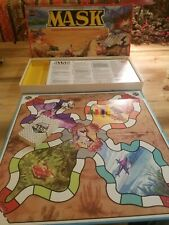 RARE VINTAGE 1985 MASK Raid & Rescue Board Game by PARKER BROTHERS - COMPLETE