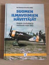 SUOMEN ILMAVOIMIEN HAVITTAJAT. Heimdal-Kari Stenman-Keskinen-Finnish Fighter-WW2