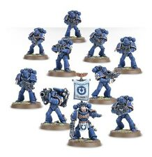 Warhammer 40k 40000 10x Miniatures Space Marine Tactical Squad