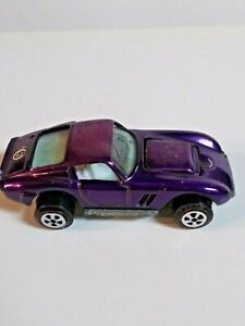 Vintage 1969 JOHNNY LIGHTNING ORIGINAL TOPPER  CUSTOM FERARI- PURPLE #60