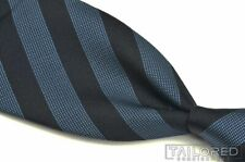 "YVES SAINT LAURENT Rive Guache YSL Blue Striped 100% Silk Luxury Tie - 3.75"""