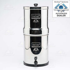 BIG BERKEY WATER PURIFICATION SYSTEM W/2 BLACK FILTERS FREE PRIORITY SHIPPING!!