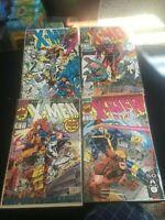 Lot of 4 Marvel X-Men Comics Oct 281, Dec 3, Oct 1, Nov 2