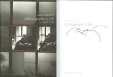 Annie Leibovitz SIGNED AUTOGRAPHED A Photographer's Life 1990 2005 HC 1st Ed/1st