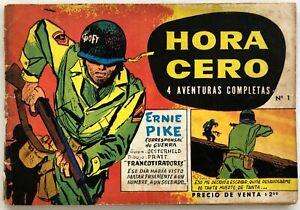 HORA CERO MENSUAL  N° 1  HUGO PRATT OESTERHELD ARGENTINA 1957