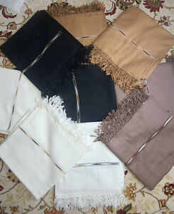 Pakistani Man 100% Wool Shawl/Wrap Scarf