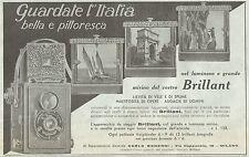 Y2077 Voigtlander - Apparecchio BRILLANT - Pubblicità del 1933 - Old advertising