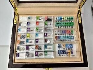 Luxury Micro 72 Periodic Table Element Samples Inc Rhodium Scandium Iridium