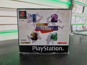Capcom Generations - PS1 [1 manual included] - FAST DELIVERY