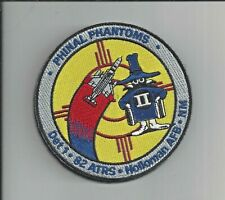 PATCH USAF 82ND AERIAL TARGETS SQ  DET 1 ATRS HOLLOMAN AFB F-4                 M