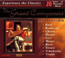 Great Composers Collection. 10 CD Box Set. Classical / relaxation.