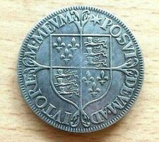 Chelín plata Elizabeth I 1558-1603 1601 Relleno