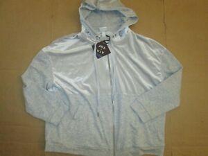 Womens AVA & VIV full zip hooded jacket sz 1X NWT