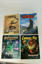 Estate Lot of 4 Pathfinder PB Books RPG Dungeons and Dragons D&D Ars Magica