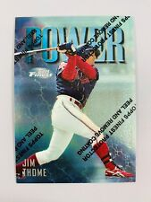 JIM THOME 1997 TOPPS FINEST POWER CLEVELAND INDIANS CARD 148 THEME P13 UNCOMMON