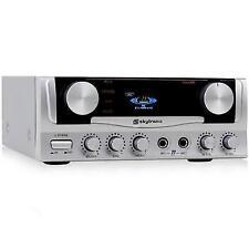 Skytronic Compact DJ HIFI Mic Karaoke Amplifier 400w Amp CD Mp3 Play
