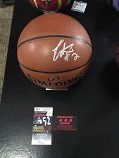 Collin Sexton Cavaliers Autographed Basketball Ball JSA Certified