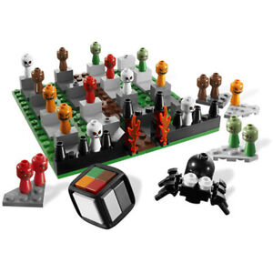 Lego Gear Game Set 3837 Monster 4 - 100% complete, no instructions and no box
