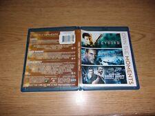 Cyborg / Death Warrant / Double Impact (Blu-ray Disc, 2014, 3-Disc Set)