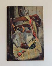 HST nature-morte de chasse SOCIETE DES ARTISTES FRANCAIS 1967 Cynégetique