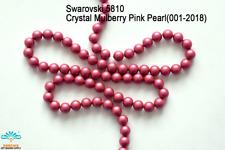 100 Beads Swarovski #5810 Crystal Coral Pearl 001-816