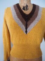 1930's Vintage Pattern Hand Knit Sweater Jumper—Modern Made