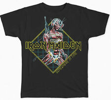 IRON MAIDEN Somewhere In Time Diamond T-SHIRT OFFICIAL MERCHANDISE