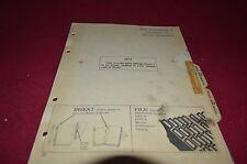 John Deere 78 Rear Mounted Blade Dealer's Parts Book Manual DCPA3