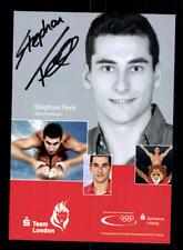 Stephan Feck Autogrammkarte Original Signiert Schwimmen + 175366