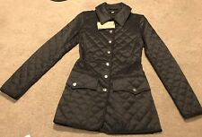 New With Tags Burberry Borthwicke Women's Quilted Coat Jacket Size XXS