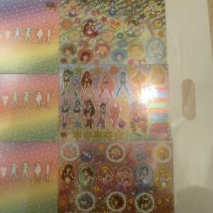 Sailor Moon Metal sheet sticker