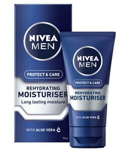 2 x Nivea Men Protect & Care Rehydrating Moisturiser 75ml EACH With Vitamin E