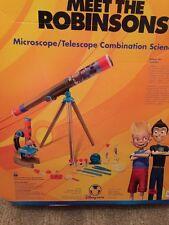 NIB Disney Robinsons Microscope/ Telescope Combo Science Kit School Classroom