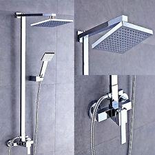de platz auralum unterputz regendusche duschkopf handbrause duschset berkopf - Regenwalddusche Unterputz