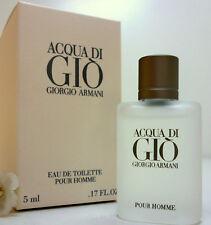 Armani Acqua di Gio pour Homme 5 ml EDT Miniatur Neu