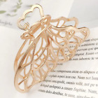 Gold Silver Hollow Butterfly Wing Fairy Hair Clam Big Angel Wings Bridal Jewelry