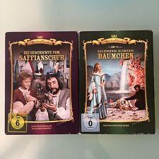 2 Stück DVD Märchen Klassiker Die Geschichte vom Saffianschuh 4028951191895